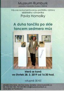 Pátá komentovaná prohlídka výstavy Pavla Homolky