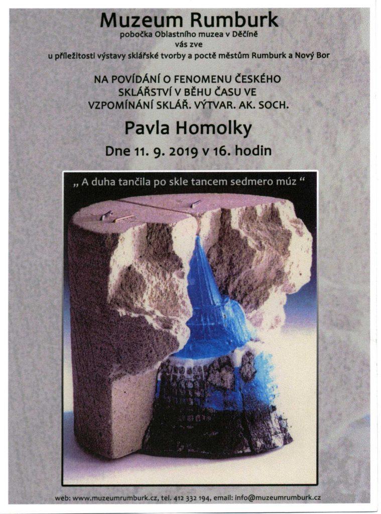 Pavel Homolka - Povídání o fenoménu českého sklářství